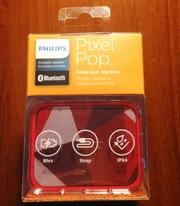 Колонка Philips BT110 PixelPop портативная беспроводна блютуз акустика